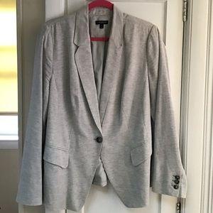 Gray Linen Jacket